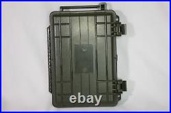 Waterproof Rugged Hard Plastic Case Travel Humidor Showroom Model