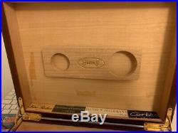 Wood cigar box Humidif vintage luxury large
